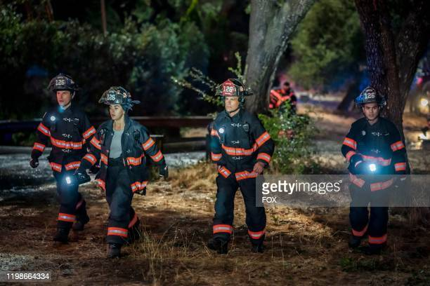 Ronen Rubenstein Natacha Karam Rob Lowe and Julian Works in 911 LONE STAR debuting in a special twonight series premiere Sunday Jan 19 following the...