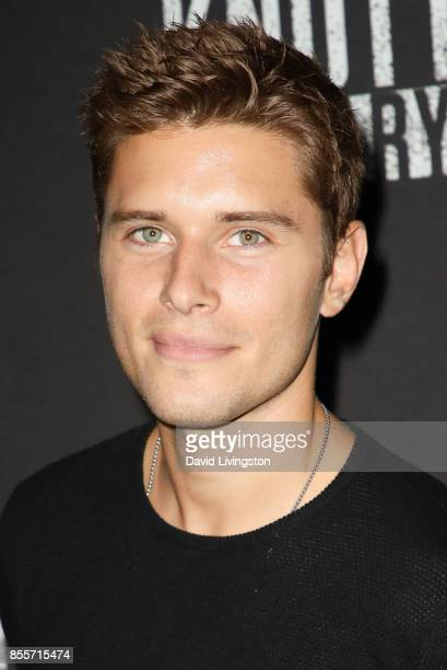 Ronen Rubinstein attends the Knott's Scary Farm and Instagram's Celebrity Night at Knott's Berry Farm on September 29 2017 in Buena Park California