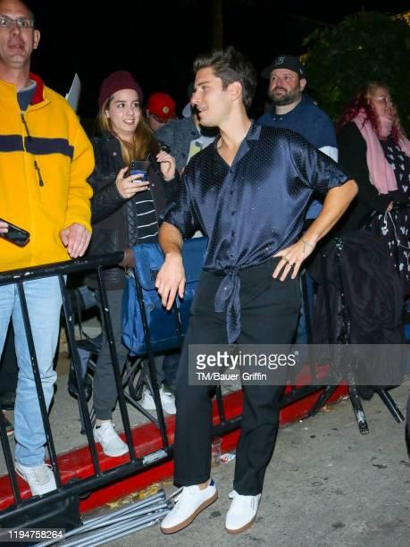 Ronen Rubinstein is seen on January 19 2020 in Los Angeles California