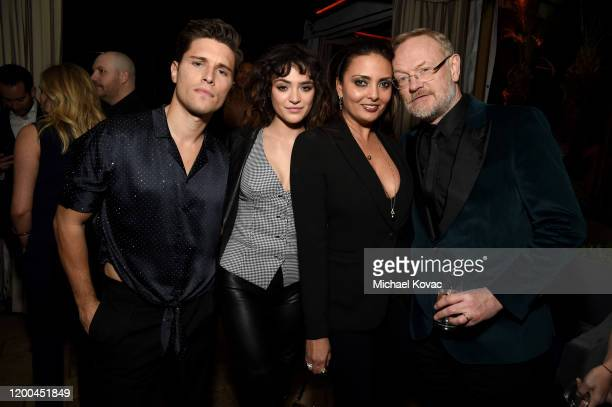 Ronen Rubinstein Luna Blaise Allegra Riggio and Jared Harris are seen as Entertainment Weekly Celebrates Screen Actors Guild Award Nominees at...