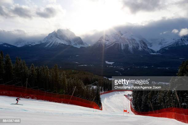 Roni Remme in action during the Audi FIS Alpine Ski World Cup Women's Downhill on December 2 2017 in Lake Louise Canada