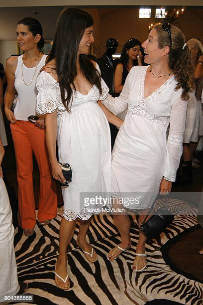 Ronit Berkman and Robin Lefcourt attend DOLCE GABBANA Benefit Luncheon hosted by Jessica Seinfeld Claude Wasserstein and Stephanie Winston Wolkoff...