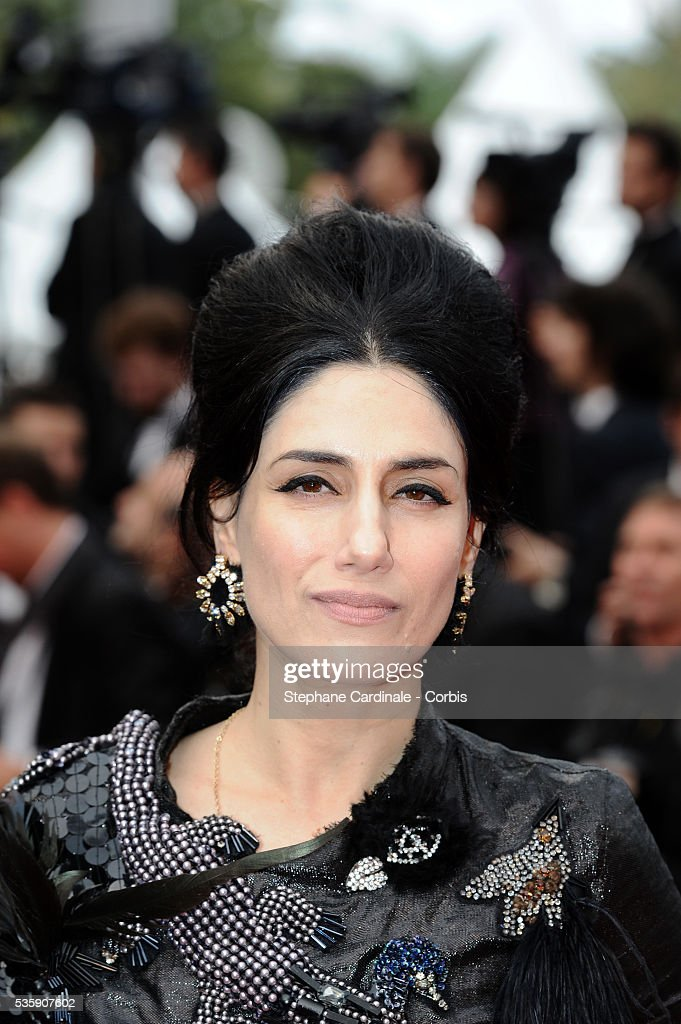 Ronit Elkabetz attends the 'Outside of the law' Premiere during the 63rd Cannes International Film Festival