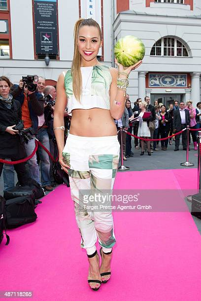 Ronja Hilbig attends the 'Dirty Dancing' musical premiere at Admiralspalast on April 27 2014 in Berlin Germany