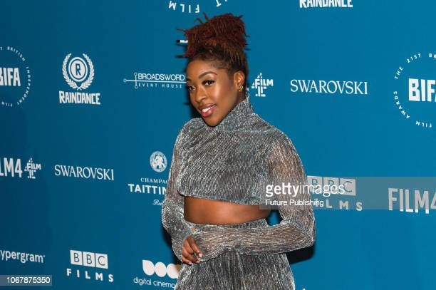Ronke Adekoluejo attends the 21st British Independent Film Awards at Old Billingsgate in the City of London December 02 2018 in London United Kingdom