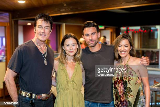 Ronn Moss Taylor Stanley Erik Fellows and Terri Ivens attend The Bay Cast Host Fan Appreciation Event on July 27 2018 in Glendale California