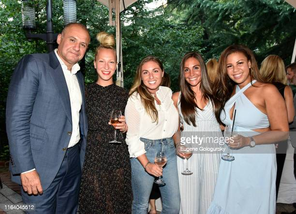 Ronn Torossian and 5WPR staff attend the 5W Summer Party At Tavern On The Green on July 24 2019 in New York City