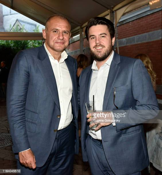 Ronn Torossian and 5WPR staff member attend the 5W Summer Party At Tavern On The Green on July 24 2019 in New York City