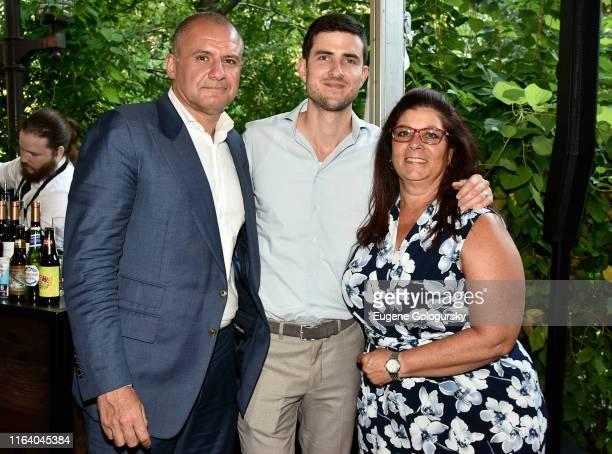 Ronn Torossian and 5WPR staff members attend the 5W Summer Party At Tavern On The Green on July 24 2019 in New York City