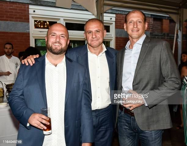 Ronn Torossian and staff attend the 5W Summer Party At Tavern On The Green on July 24 2019 in New York City