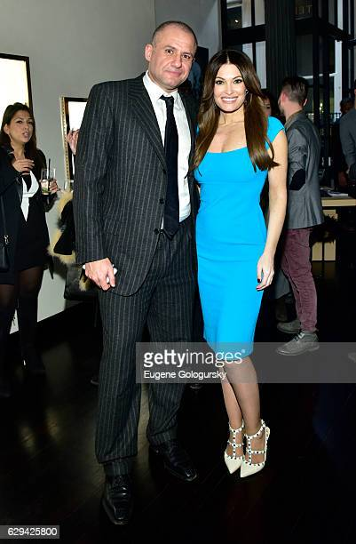 Ronn Torossian,Êand Kimberly Guilfoyle attend the JetSmarter x Material Good VIP Event Hosted By Talent Resources at Material Good on December 12,...