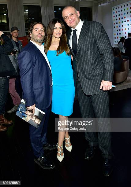Ronn Torossian,ÊKimberly Guilfoyle, and Mike HellerÊ attend the JetSmarter x Material Good VIP Event Hosted By Talent Resources at Material Good on...