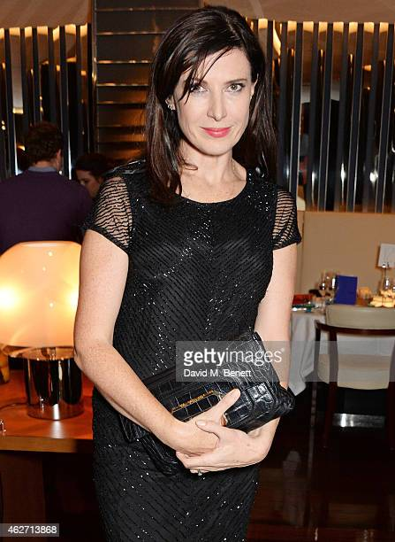 Ronni Ancona attends a charity dinner hosted by Nicola Formby and AA Gill with Dana Hoegh in support of Borne a charity aimed at preventing...