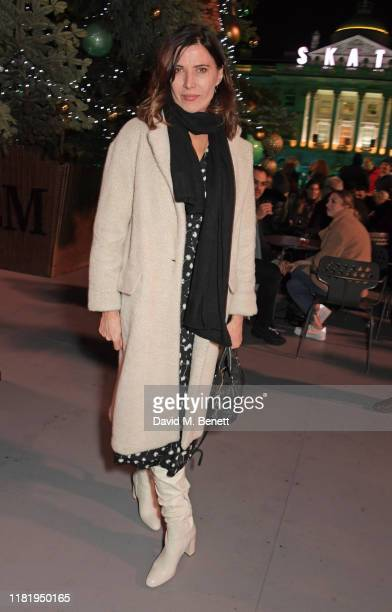 Ronni Ancona attends the opening party of Skate at Somerset House on November 12, 2019 in London, England. Celebrating its 20th anniversary, London's...