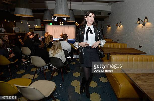 Ronni Ancona performs at the newly opened hotel The Hoxton Holborn which launched with an immersive theatre play The Backstage Tour written by Amy...