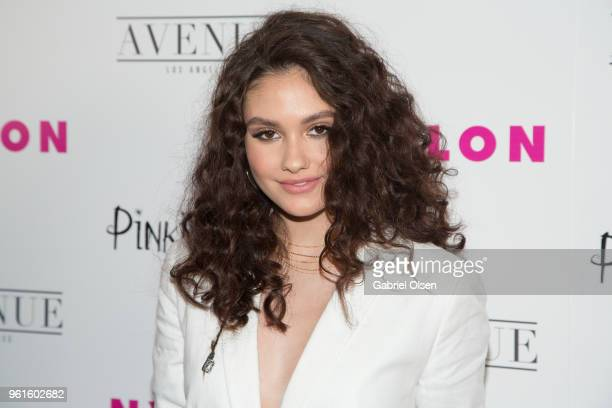 Ronni Hawk arrives for NYLON Hosts Annual Young Hollywood Party at Avenue on May 22 2018 in Los Angeles California