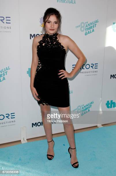 Ronni Hawk attends the 8th annual Thirst Gala at The Beverly Hilton Hotel on April 18 2017 in Beverly Hills California