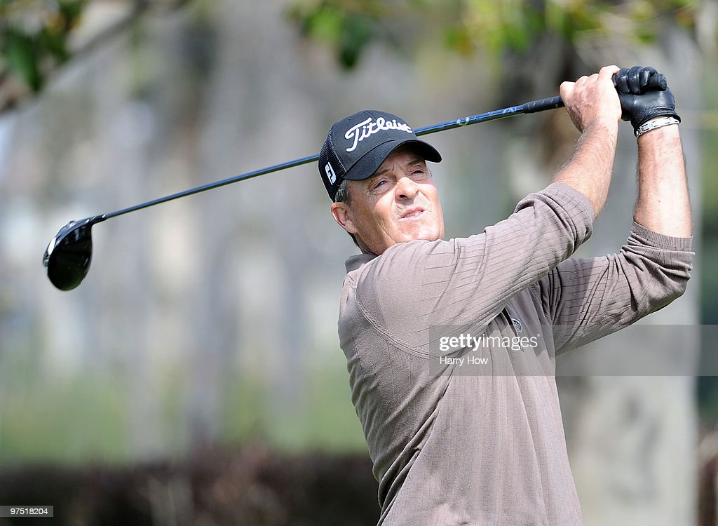 Ronnie Black watches his tee shot on the sixth hole during the third round of the Toshiba Classic at the Newport Beach Country Club on March 7, 2010 in Newport Beach, California.