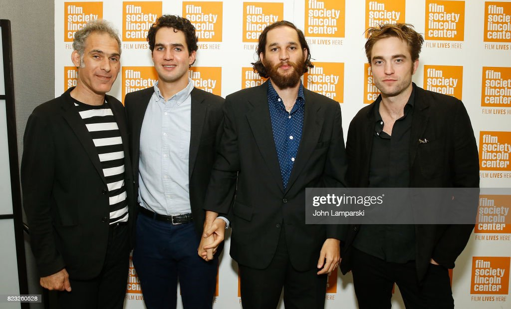 Ronnie Bronstein, Benny Safdie, Josh Safdie and Robert Pattison attend Film Society of Lincoln Center presents 'Good Time' at Walter Reade Theater on July 26, 2017 in New York City.