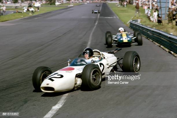 Ronnie Bucknum, Honda RA272, Grand Prix of Mexico, Autodromo Hermanos Rodriguez, Magdalena Mixhuca, 24 October 1965.