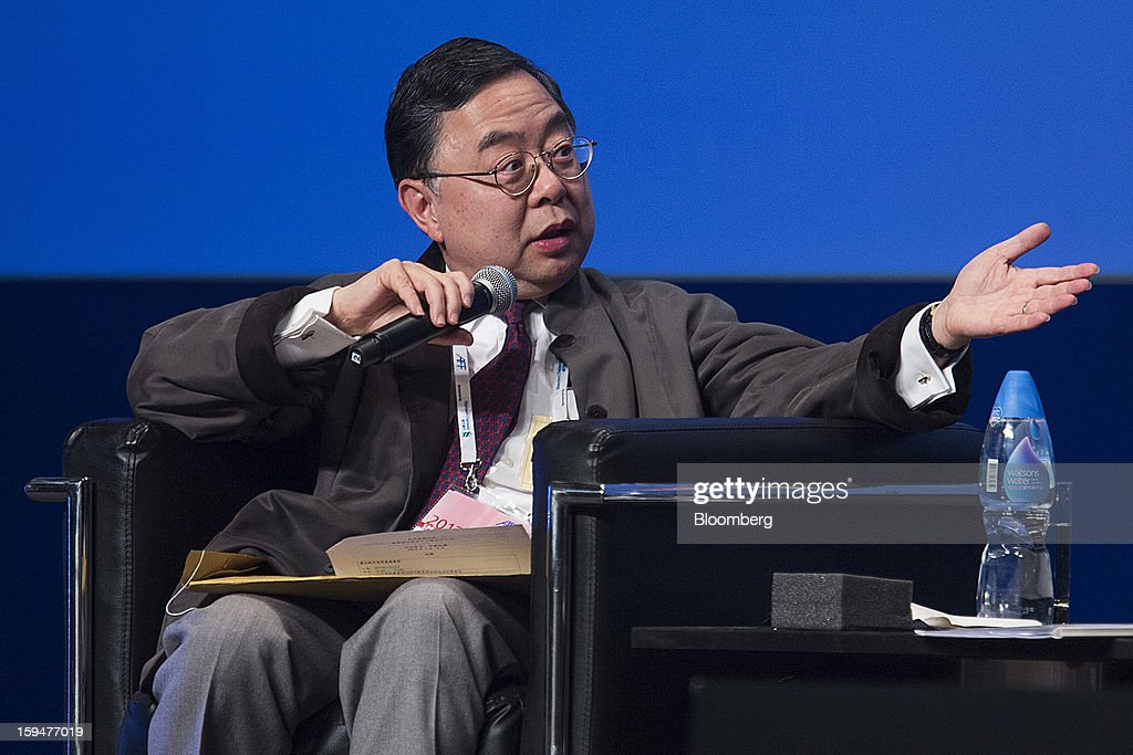 Ronnie Chan, chairman of Hang Lung Properties Ltd., gestures whilst speaking at the Asian Financial Forum in Hong Kong, China, on Monday, Jan. 14, 2013. The Asian Financial Forum runs until Jan. 15. Photographer: Jerome Favre/Bloomberg via Getty Images