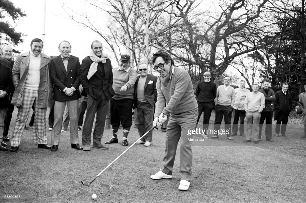 Ronnie Corbett made his bow as newly appointed Captain of the Variety...  News Photo - Getty Images