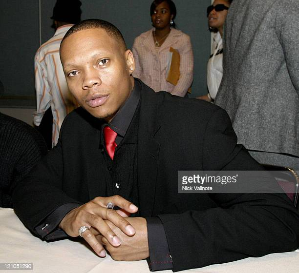 "Ronnie Devoe of New Edition during New Edition ""Brother to Brother"" HIV/AIDS Awareness Forum at Atlantic City Convention Center in Atlantic City NJ..."