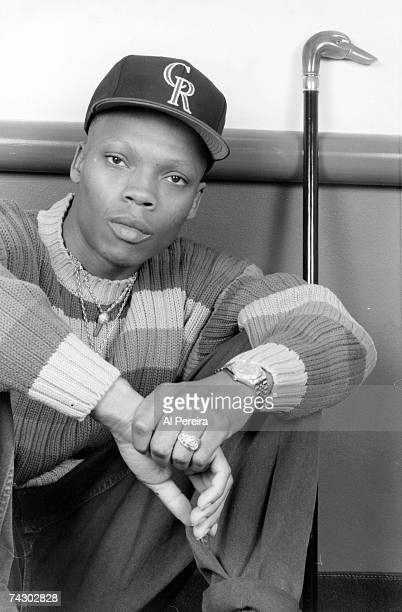 Ronnie DeVoe of the RB trio 'Bell Biv DeVoe' poses for a portrait in circa 1992