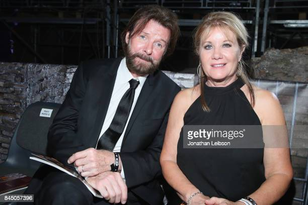 Ronnie Dunn and his wife attend at the Andrea Bocelli show as part of the 2017 Celebrity Fight Night in Italy Benefiting The Andrea Bocelli...