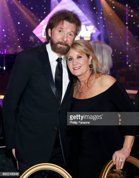 Ronnie Dunn and Janine Dunn attend Celebrity Fight Night XXIV on March 10 2018 in Phoenix Arizona