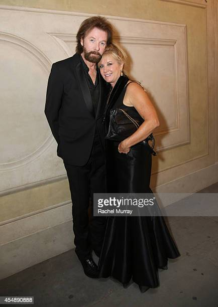 Ronnie Dunn and Janine Dunn attend the Celebrity Fight Night gala celebrating Celebrity Fight Night In Italy benefitting The Andrea Bocelli...
