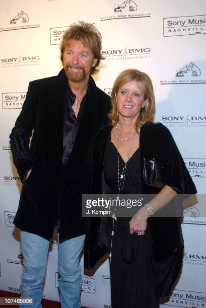 Ronnie Dunn and Janine Dunn during The 39th Annual CMA Awards SONY BMG After Party Arrivals at Gotham Hall in New York City New York United States