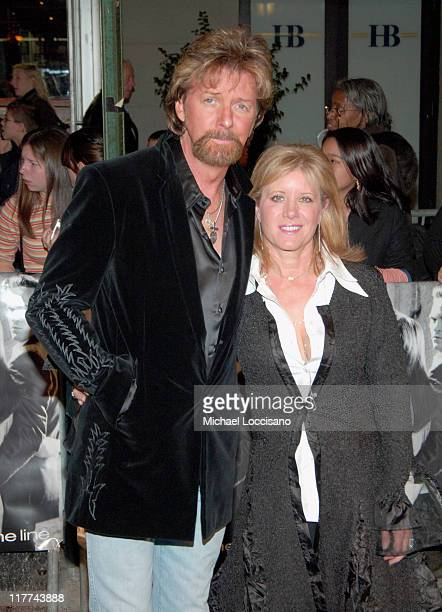 Ronnie Dunn and Wife during Country Takes New York City Presents Walk The Line Premiere at Beacon Theater in New York City New York United States