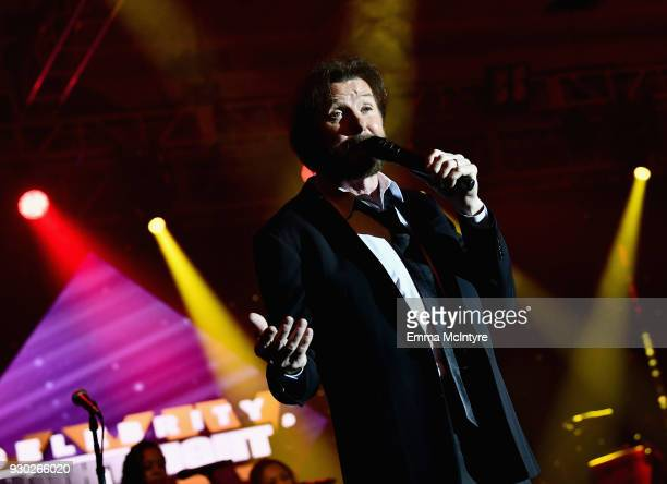 Ronnie Dunn of Brooks and Dunn performs onstage at Celebrity Fight Night XXIV on March 10 2018 in Phoenix Arizona