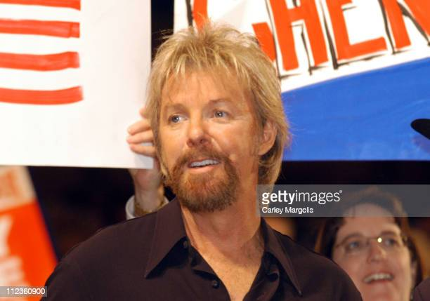 Ronnie Dunn of Brooks Dunn during 2004 Republican National Convention Day 3 Inside at Madison Square Garden in New York City New York United States
