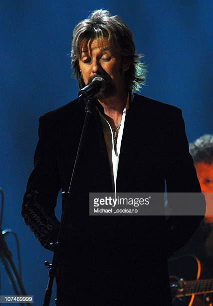 Ronnie Dunn of Brooks Dunn performs 'Believe' during 2006 CMT Music Awards Show at Curb Events Center at Belmont University in Nashville Tennessee...