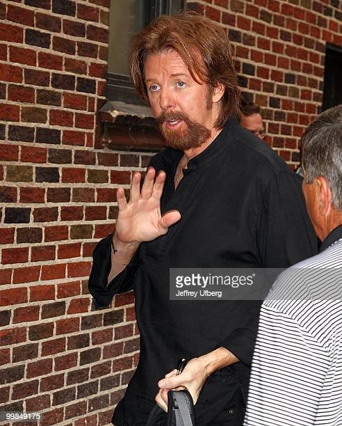 Ronnie Dunn visits Late Show With David Letterman at the Ed Sullivan Theater on May 17 2010 in New York City