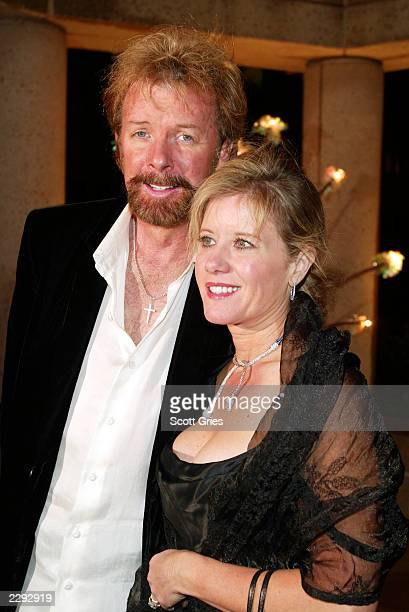 Ronnie Dunn with his wife Janine at the BMI Country Awards at the BMI Nashville building in Nashville Tennessee 11/5/02 Photo by Scott...