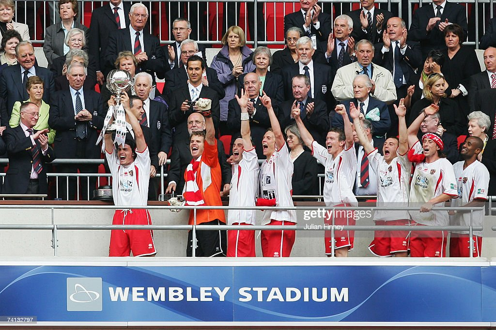 FA Trophy Final: Kidderminster Harriers v Stevenage Borough : News Photo