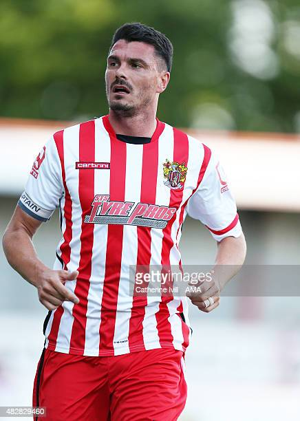 Ronnie Henry of Stevenage during the preseason friendly between Stevenage and Nottingham Forest on July 17 2015 in Stevenage England