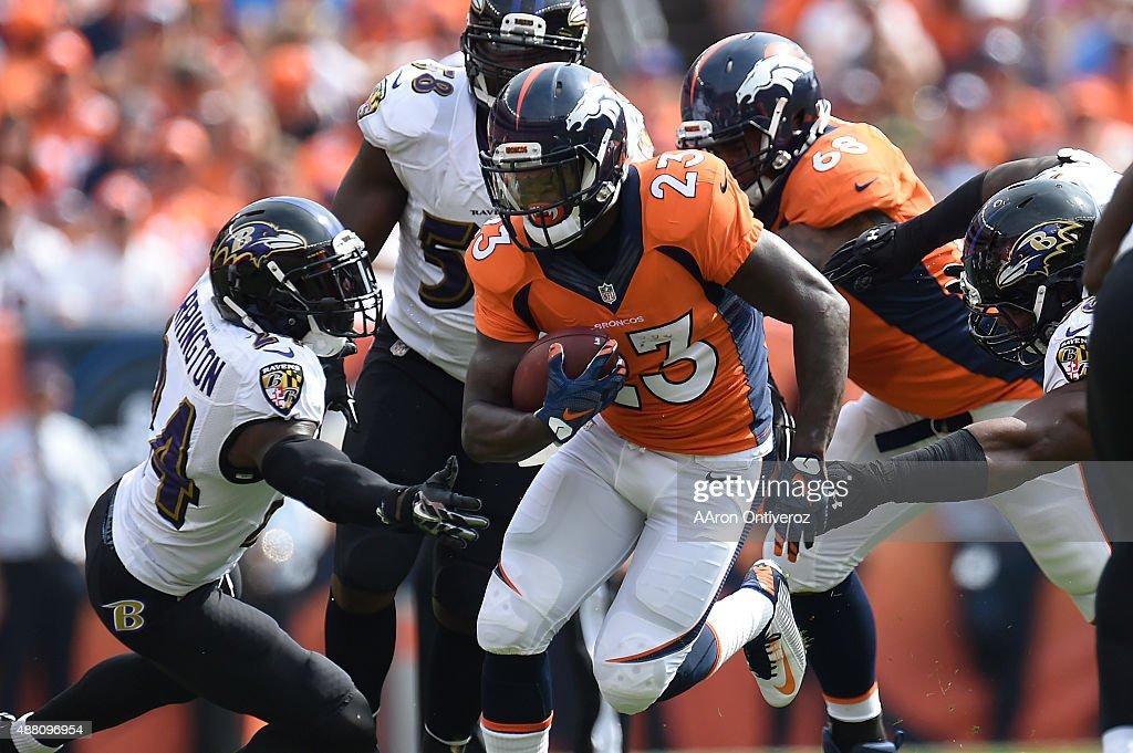 Baltimore Ravens vs. Denver Broncos : News Photo