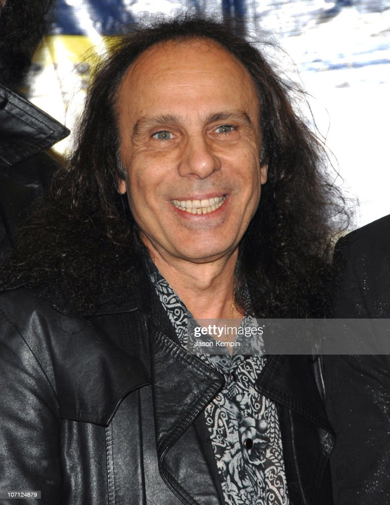 Ronnie James Dio during Black Sabbath In-Store Appearance For 'Heaven and Hell: The Dio Years' - April 3, 2007 at Best Buy - 5th Avenue in New York City, New York, United States.