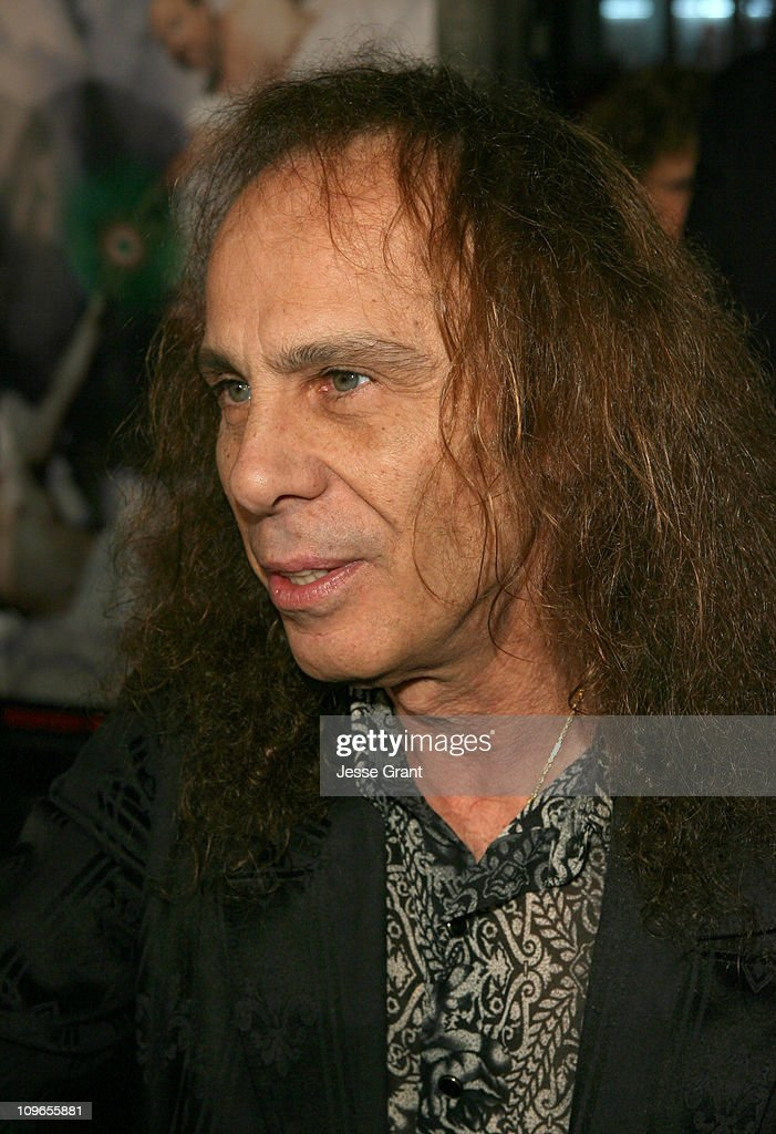 Ronnie James Dio during 'Tenacious