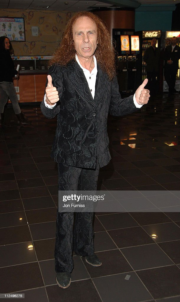 Ronnie James Dio during 'Tenacious D in the Pick of Destiny' World Premiere - Foyer at Vue West End in London, Great Britain.
