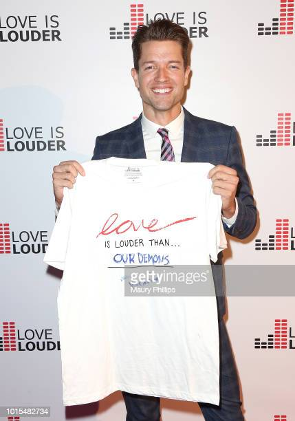 Ronnie Kroell attends Chaz Dean Summer Party 2018 Benefiting Love is Louder on August 11 2018 in Los Angeles California