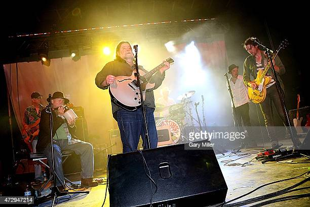 Ronnie Leatherman Tommy Hall Roky Erickson Jegar Erickson and Eli Southard of the 13th Floor Elevators perform as a group for the first time in 45...