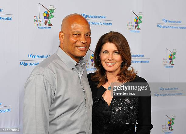 Ronnie Lott and Karen Lott attend the UCSF Medical Center and The Painted Turtle Present A Starry Evening of Music Comedy Surprises at Davies...