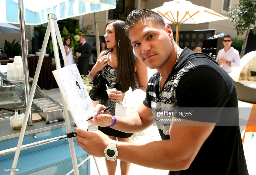 Ronnie Magro attends the Kari Feinstein MTV Movie Awards Style Lounge held at Montage Beverly Hills on June 4, 2010 in Beverly Hills, California.