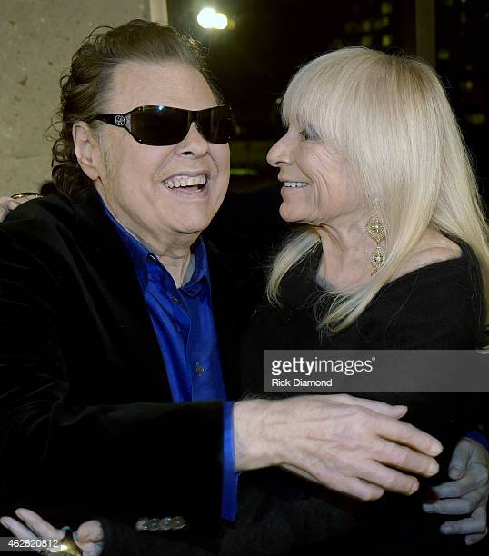 Ronnie Milsap and Joyce Milsap attend Ronnie Milsap Exhibit Opening Reception At The Country Music Hall Of Fame And Museum at Country Music Hall of...