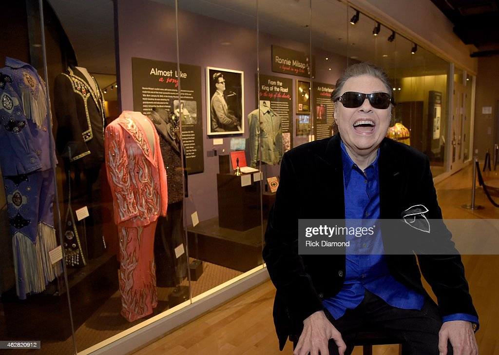 Ronnie Milsap Exhibit Opening Reception At The Country Music Hall Of Fame And Museum